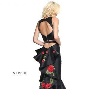 44e3068c4e966 Sherri Hill Dresses - Authentic NEW Sherri Hill 51027 Black Prom Gown